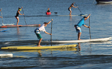 Xero 2km and Paddle Boarding HB 3.5km SUP